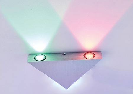 LED Color Wall Light LED Color Wall LightsBD001-3  3W