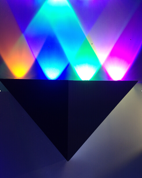 LED Color Wall Light LED Color Wall LightsBD001-4S 4W