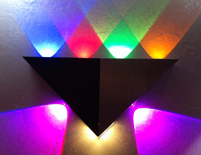 LED Color Wall Light LED Color Wall LightsBD001-7 7W