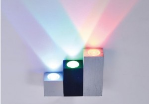 LED Color Wall Light LED Color Wall LightsW055 3W